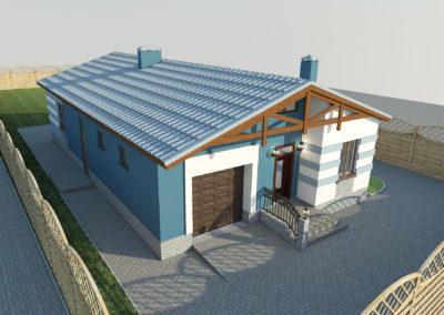 Индивидуальное жилое строительство. Проект дома.